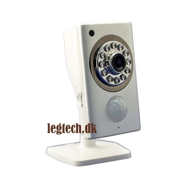 Trådløs wifi kamera med natsyn