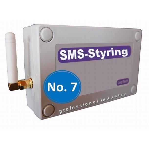 SMS-styring og fugt overvågning