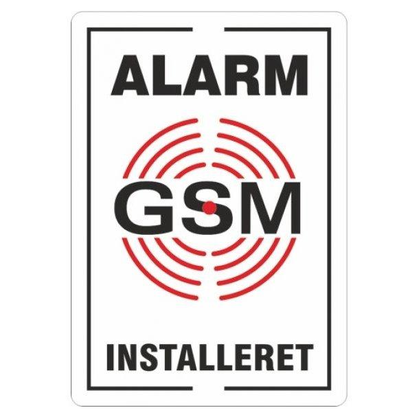 Alarm klister-mærker (Tryk på begge sider)
