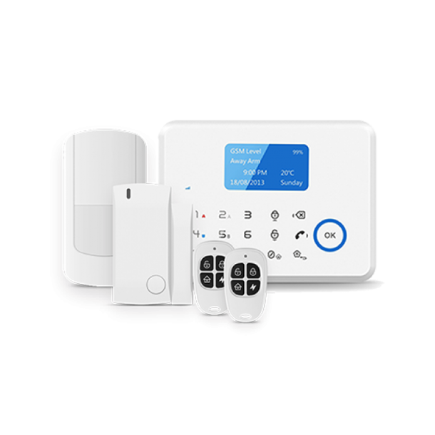 3G Alarm System (Med Display & Touch tastatur)