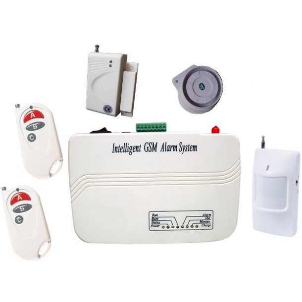 GSM Alarm System  (B)
