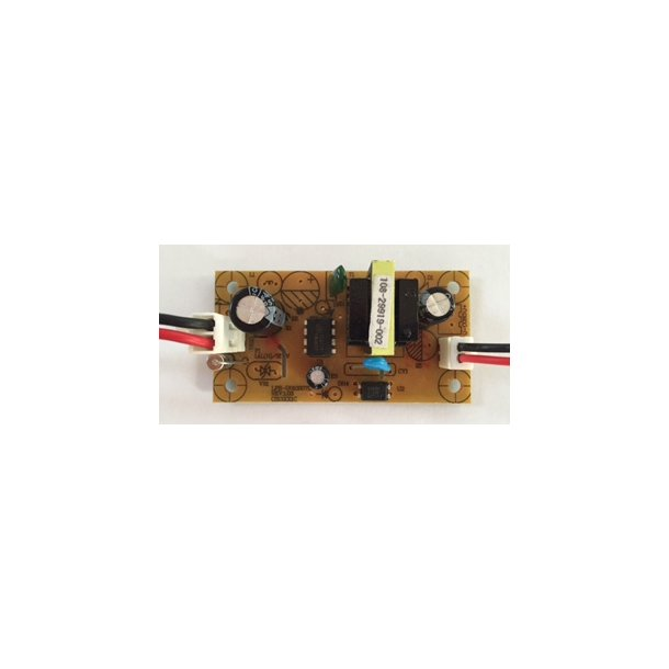 Strømforsygning 230VAC/12VDC (Indbygning)