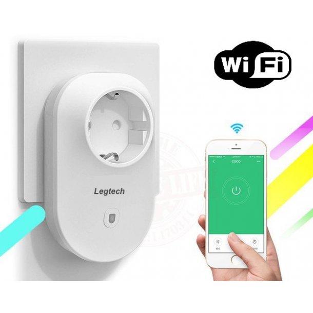 Af modish Wifi Stik 230VAC (Direkte i stikkontakt) - Wifi Varmestyringer JN17