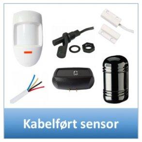 Kabelført sensor