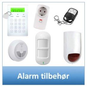 Alarm tilbehør
